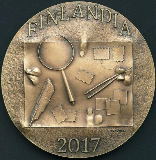 Finlandia 2017, kansainvälisen filateliatapahtuman muisto- ja palkintomitali
