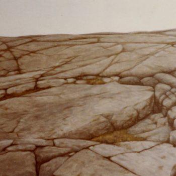 Teoksen nimi: Toisen Linjan kallioita 1983