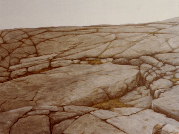 Toisen Linjan kallioita 1983
