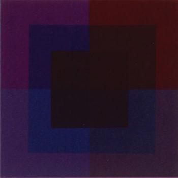 Teoksen nimi: Punainen (1975), Porin taidemuseo, kuva: Erkki Valli-Jaakola