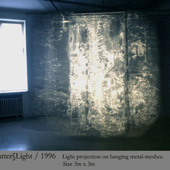 Teoksen nimi: Matter & Light / 2003/ The Museum of Modern art Tampere, Finland; The Nordic House Reykjavik, Iceland
