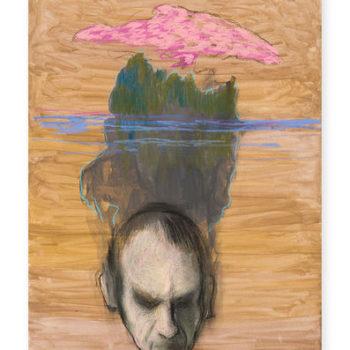 Teoksen nimi: Mies saari ja pilvi