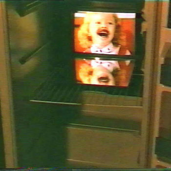 "Name of the work: ""Jääkaappi"" videoinstallaatio 1993"