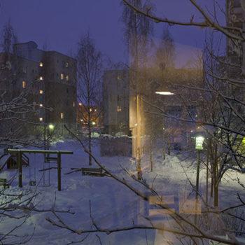 Teoksen nimi: Sarjasta Yksityiset huoneet, Hämeenlinnassa 2. huhtikuuta 2012
