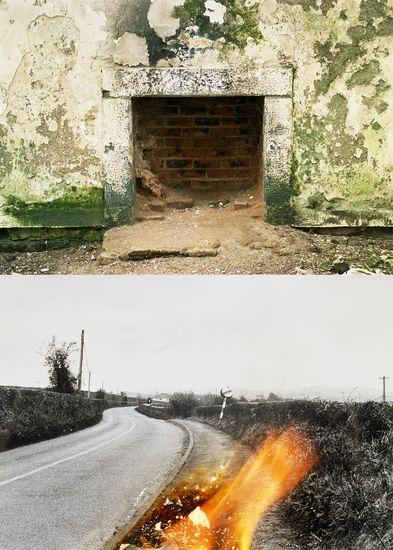 Fireplaces, Rathmelton, Ireland