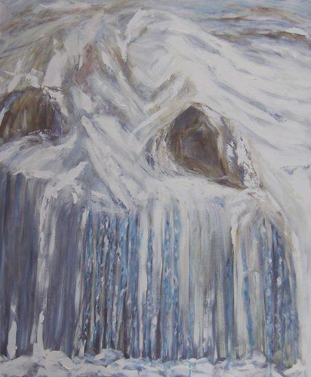 Jääpuikot  120 x 100 cm   v. 2009