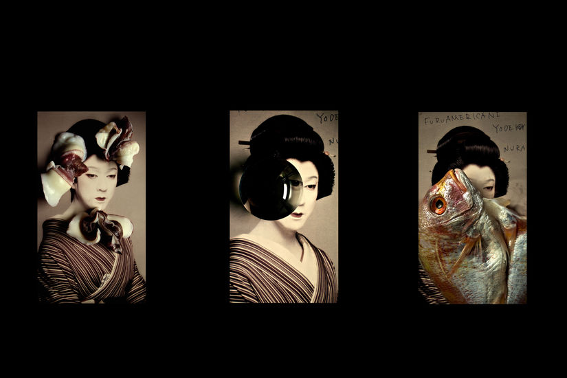 The Collection of Madama Butterfly, 3 x details 2016