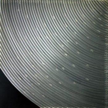 Teoksen nimi: Kierrot 90×90 cm