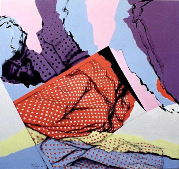 Setti, akryyli kankaalle, 132×140 cm