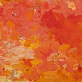 Teoksen nimi: Maalaus,100x150cm, öljy kankaalle, 2010