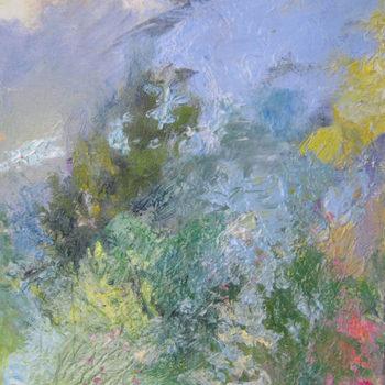 Teoksen nimi: Kesätuuli uudistaa/Summer Wind Makes You All New, öljy kankaalle/oil on canvas 2011
