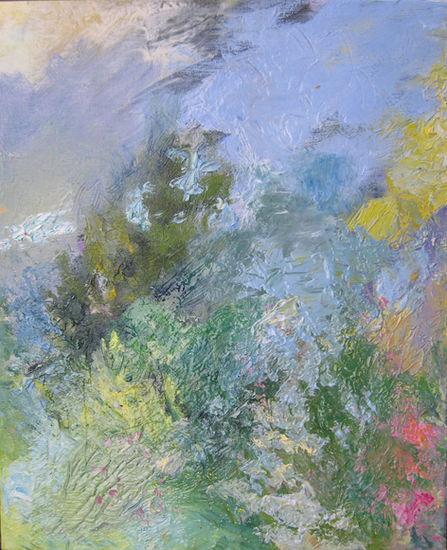 Kesätuuli uudistaa/Summer Wind Makes You All New, öljy kankaalle/oil on canvas 2011