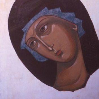 Teoksen nimi: Marian kasvojen vaalennus