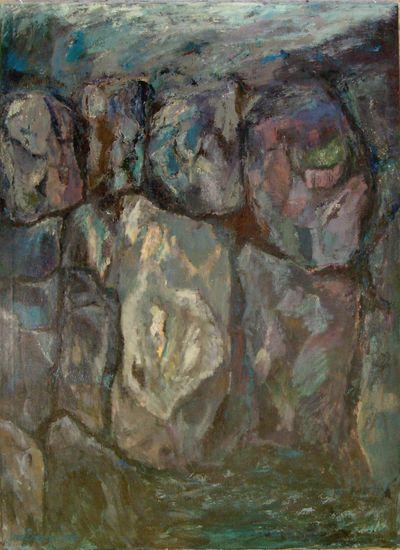 Muuri  v. 2002  150 x 110 cm