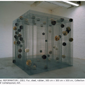 Teoksen nimi: Reformatory / Kasvatuslaitos, 2001