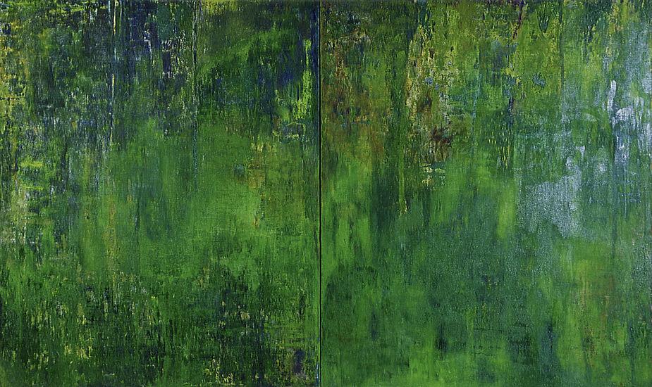 Hikivuori-diptyykki / What is the Colour of Moss