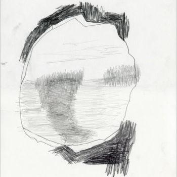 Teoksen nimi: Reikä, piirros 2015