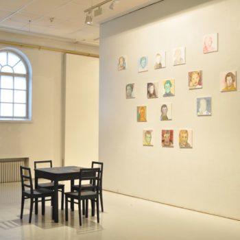 Teoksen nimi: Kuudes aisti 2008, yksityisnäyttely Mältinrannan taidekeskus 2011