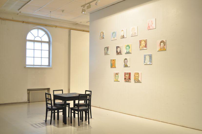 Kuudes aisti 2008, yksityisnäyttely Mältinrannan taidekeskus 2011