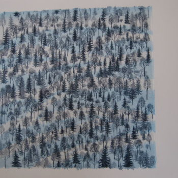 Teoksen nimi: Talvimetsä, 2008-2010