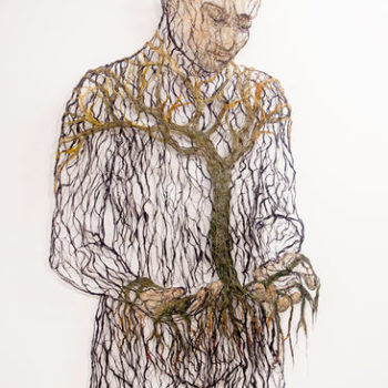 Teoksen nimi: Puunkantaja, 2015