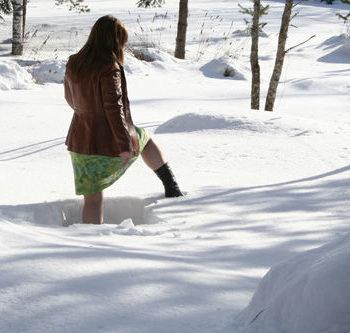 Teoksen nimi: Winter Catwalk