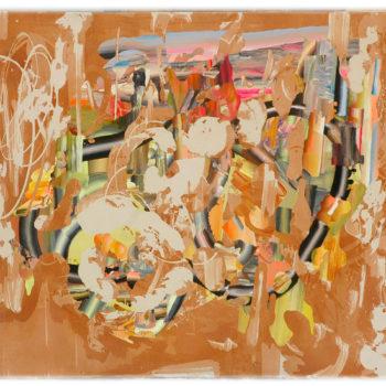 Teoksen nimi: Polkupyöräretki 2010, 140×164