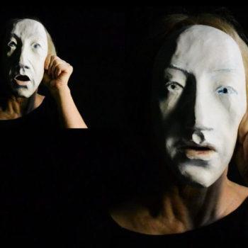 Teoksen nimi: Still-kuva videosta Behind mask 2014