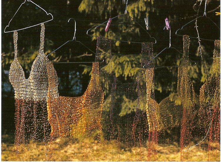 Pohjois-Karjalainen Haute Couture 1997 Mäntän kuvataideviikot
