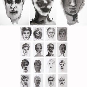 Teoksen nimi: Musteläiskäomakuvia, 2013