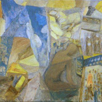 """Teoksen nimi: """"o tempora, o mores"""" – serom o, aropmet o  2001      155 x 296 cm"""