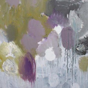 Teoksen nimi: Sarjasta Kaunismaailma 15., akryylimaalaus, 70×50 cm, 2015