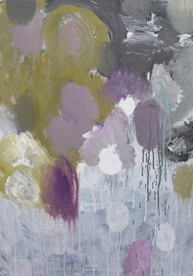 Sarjasta Kaunismaailma 15., akryylimaalaus, 70×50 cm, 2015