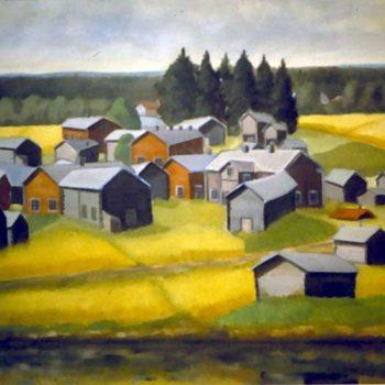 Name of the work: Suvannon kylä 1972
