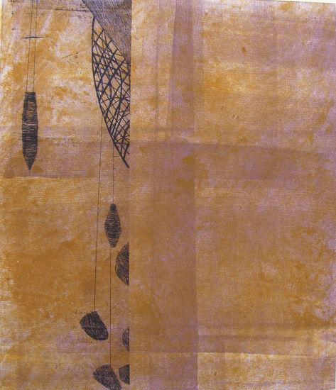 ILOT / JOYS, 27, 2012, monotype, etching, rolling, 28 x 23 cm