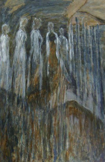 Kuoro ja jääurut   120 x 80 cm  v. 2009