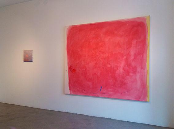 Kuva näyttelystä Jotain oli tossa / Something Was There Galleria Å, Turku, 2017