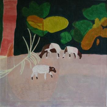 Name of the work: Vuohet vaaleanpunaisessa