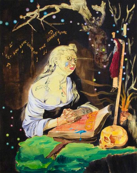 I Bet You Look Good on the Dancefloor, 2008, acrylic on canvas, 92×116 cm