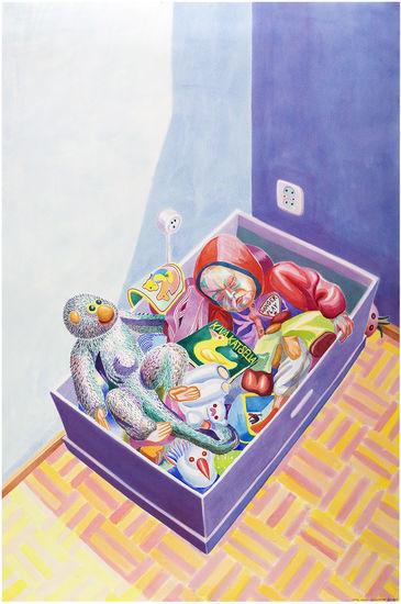 Ursula nukkuu lelulaatikossa / Ursula Sleeps in Toybox