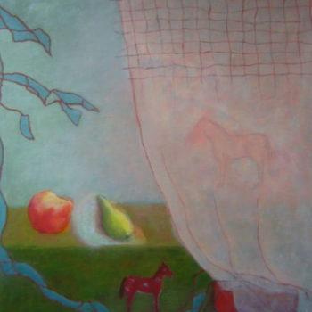 Teoksen nimi: Heijastus, öljymaalaus
