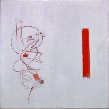 Teoksen nimi: Luonnonvalkoinen ja punainen/ White and Red