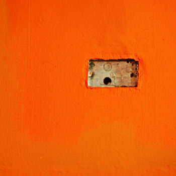 Teoksen nimi: Orange Wall