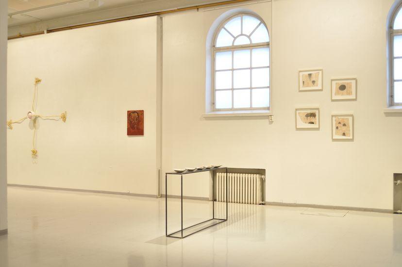 yksityisnäyttely Mältinranta taidekeskus 2011