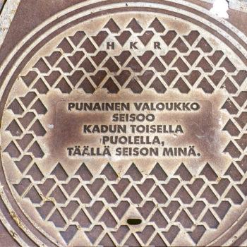 Teoksen nimi: Epigrammeja Helsingin kaupungin jalankulkijoille, 1999