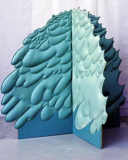 Vihreä pensas 150x150x138 cm