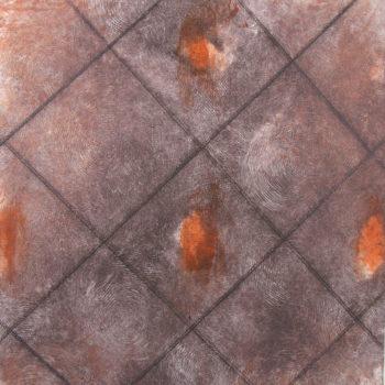 Teoksen nimi: ILOT / JOYS, 1, 2012, monotype, drypoint, 28 x 23 cm