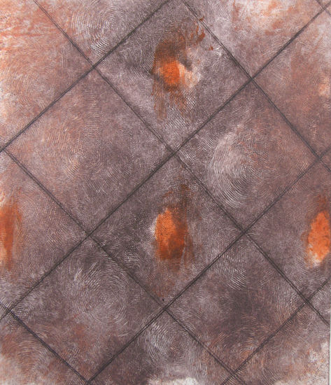ILOT / JOYS, 1, 2012, monotype, drypoint, 28 x 23 cm