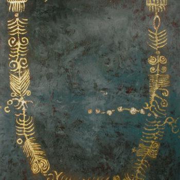 Teoksen nimi: Kaulanauha, 2008
