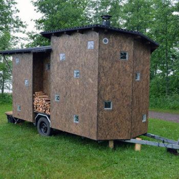 Teoksen nimi: Sauna (-projekti), 2013